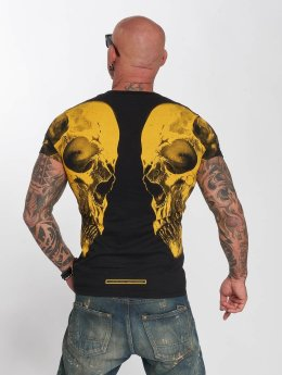 Yakuza T-Shirt Skull V02 black