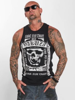 Yakuza Tank Tops Kiss My XXX black