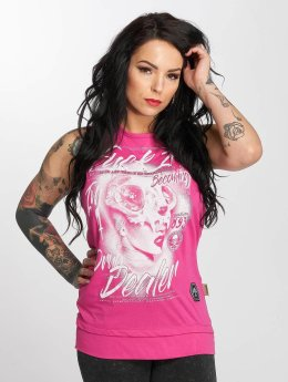 Yakuza Tank Tops Drug Dealer pink