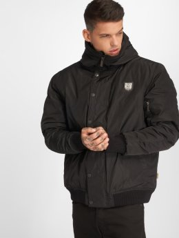Yakuza Winter Jacket 893 Hooded black