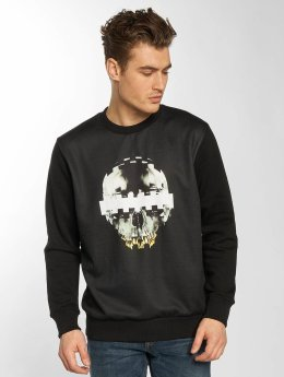 Yezz Consored Skull Sweatshirt Black
