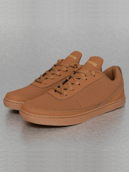 Dangerous DNGRS Sneakers Perforated brown
