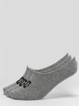 DC Socks 3-Pack Spp Liner gray