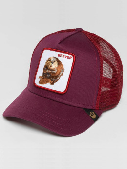 Goorin Bros. Trucker Cap Two Beavers red