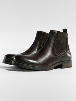 Jack & Jones Boots jfwCarston Combo Chelsea brown