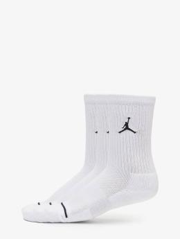 Jordan Socks 3 Pack Cotton Crew white
