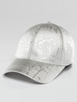 Bangastic Shiny Snapback Cap Silvercolored