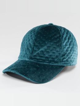 Bangastic Snapback Cap Velvet turquoise
