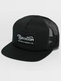 Brixton Grade Mesh Trucker Cap Black/Black