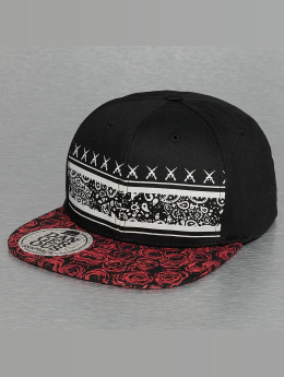 Dangerous DNGRS Snapback Cap Rose black