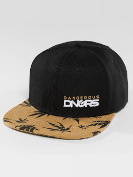Dangerous DNGRS Health Snapback Cap Black Brown