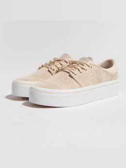 DC Sneakers Trase Platform TX SE beige