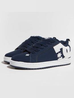DC Sneakers Court Graffik blue