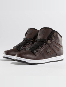 DC Sneakers Rebound High WNT brown