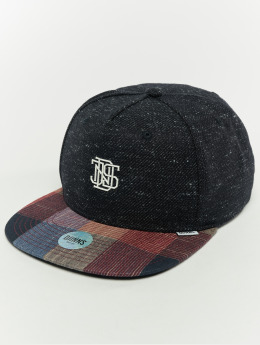 Djinns Snapback Cap 5p Wov Spot black