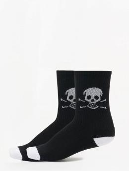 Famous Stars and Straps Socks Skull black