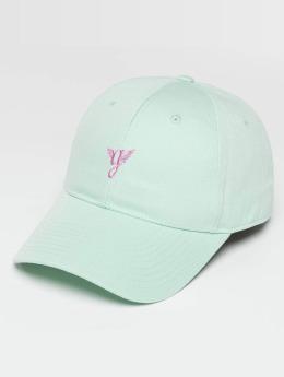 Grimey Wear Snapback Cap Heritage Curved Visor turquoise
