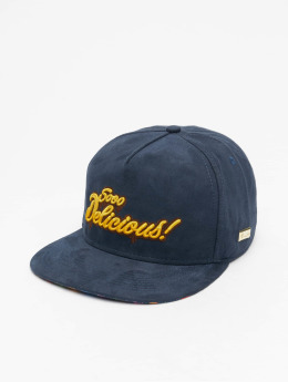 Hands of Gold Snapback Cap Soo Delicious blue