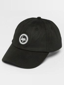 HYPE Snapback Cap Crest Dad Hat black