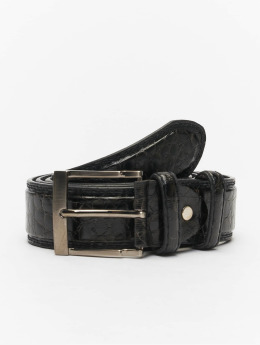Kaiser Jewelry Leather Belt Black
