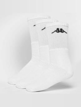 Kappa Socks Sonotu 3 Pack white