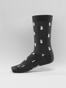 Lousy Livin Socks Houses  gray