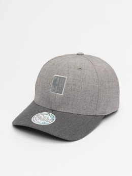 Mitchell & Ness Snapback Cap HWC Beam Logo Man 110 Curved gray