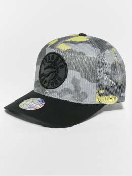 Mitchell & Ness Trucker Cap NBA Flou Camo Toronto Raptors 110 Curved camouflage
