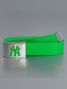 MLB Belt MLB NY Yankees Premium Woven green