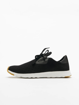 Native Apollo Moc Sneaker Jiffy Black/Shell White/Natural Rubber