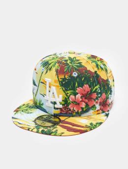 New Era Fitted Cap Allover Island LA Dodgers colored