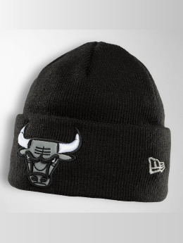 New Era Hat-1 Reflect Cuff Knit Chicago Bulls black