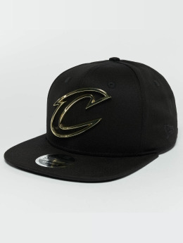 New Era Snapback Cap Metal Badge Cleveland Cavaliers black
