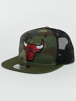 New Era Snapback Cap Washed Camo Chicago Bulls camouflage