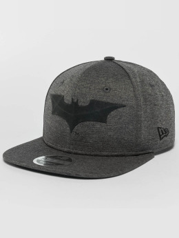 New Era Snapback Cap Concrete Jersey Batman 9Fifty gray