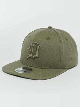 New Era Snapback Cap Canvas Detroit Tigers 9Fifty khaki