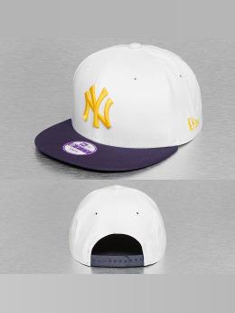 New Era Snapback Cap Junior Camo Speckle New York Yankees white