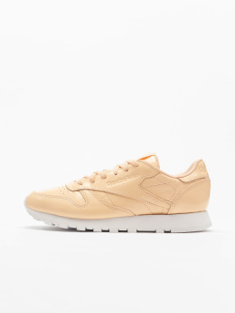 Reebok Classic Leather Patent Sneakers Desert Dust/White