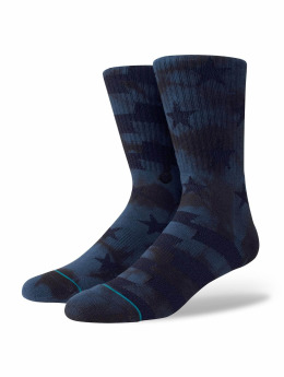Stance Socks Side Reel blue