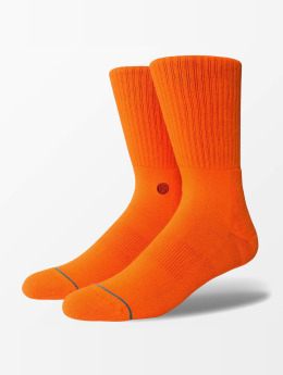 Stance Socks Icon orange