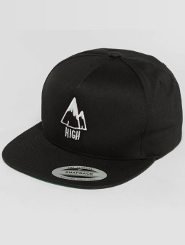 The Dudes 5 Panel Cap High black