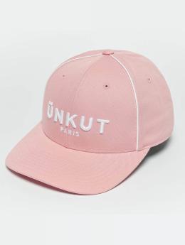 Unkut Snapback Cap Link pink