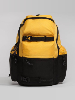 Urban Classics Backpack Colourblocking yellow
