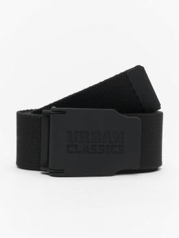 Urban Classics Belt Woven Rubbered Touch black