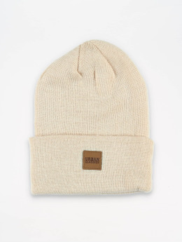 Urban Classics Hat-1 Leather Patch Long beige