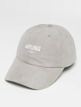 Wrung Division Snapback Cap Casual gray