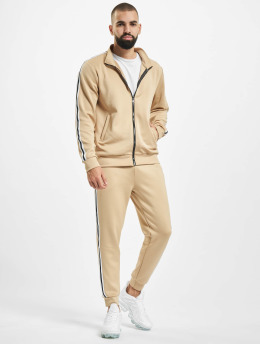 Aarhon Suits Stripe  beige