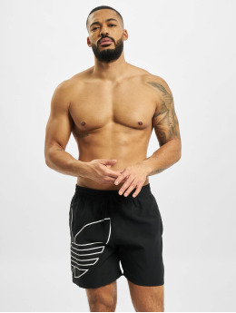 adidas Originals Badeshorts Big Trefoil Outline black