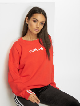 adidas originals Pullover Coeeze red