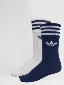 adidas originals Socks Solid Crew 2pp blue